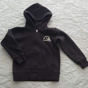Little boy's Quiksilver hoodie